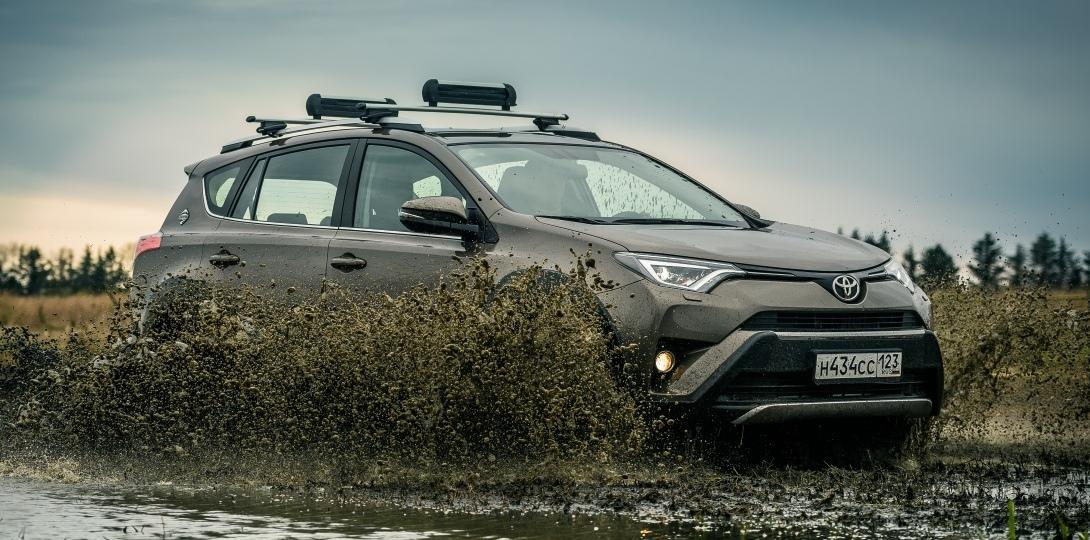 В Российской Федерации начались продажи Тоёта RAV4 вверсии Adventure