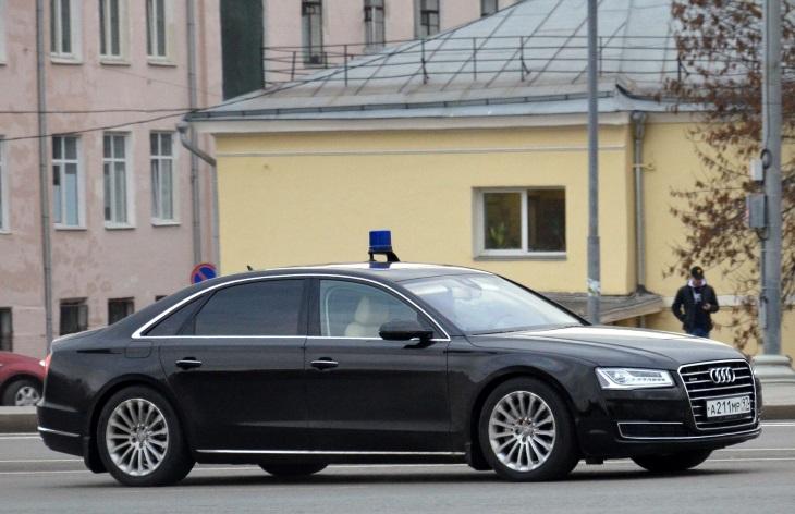 В прошлом году в России было продано 497 седанов Audi A8—в пять раз меньше, чем «Мерседесов S-класса»