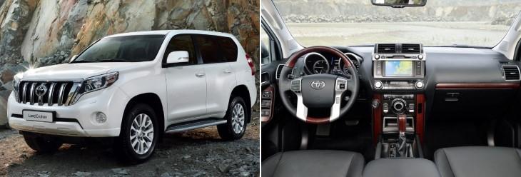 Toyota Land Cruiser Prado до рестайлинга