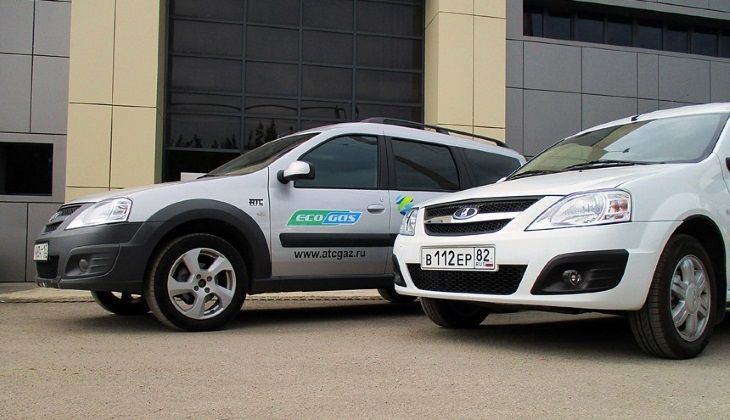 «АвтоВАЗ» выпустит газовую версию Ларгуса в будущем году