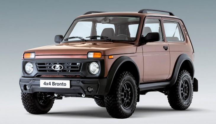 «АвтоВАЗ» предлагает самую дорогую модификацию Лада 4x4 Bronto