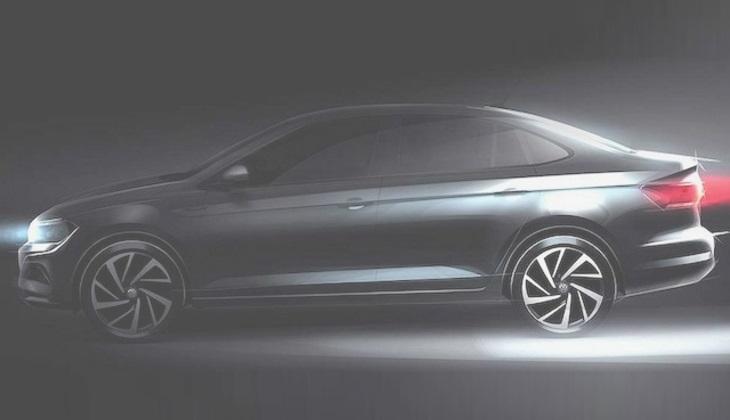 Размещено изображение нового VW Polo седан