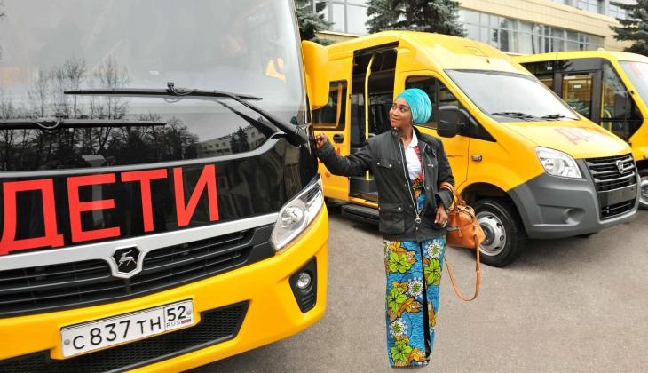 500 автобусов «ГАЗель NEXT» отправится из Нижнего Новгорода в Гану
