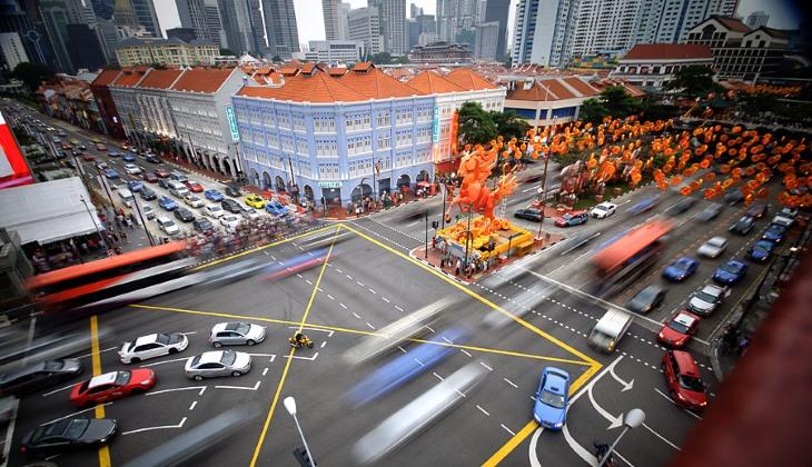 Власти Сингапура временно остановят рост автопарка вгосударстве