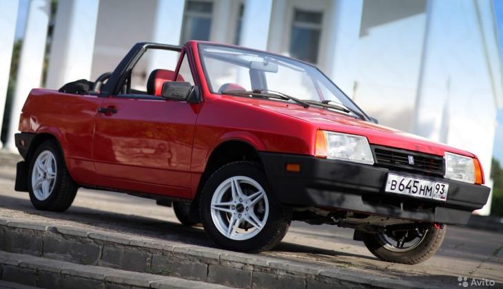 ВАЗ-2108 вкузове кабриолет предлагают за1 млн рублей