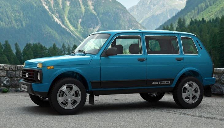 Волжский автомобильный завод вывел нарынок Германии пятидверную версию Лада 4x4