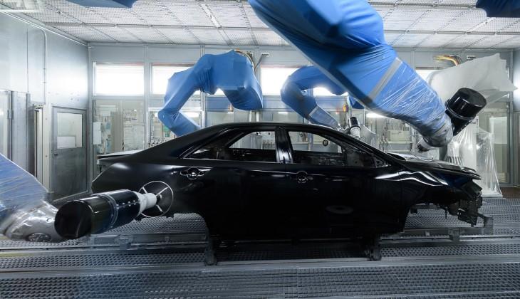 Тойота отмечает 10-летие своего русского завода