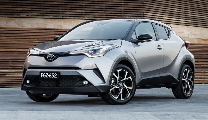 Тойота привезет в РФ новые Camry иC-HR в 2018г.