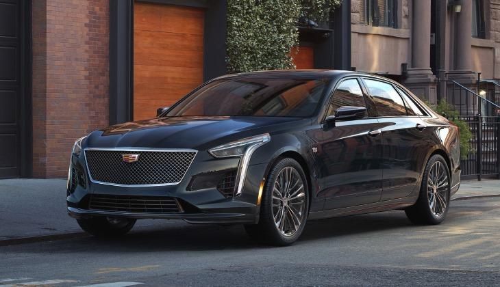 Американский Cadillac представил новый седан CT6