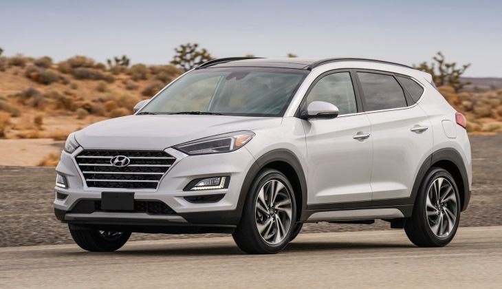 В Нью-Йорке представили новый Hyundai Tucson