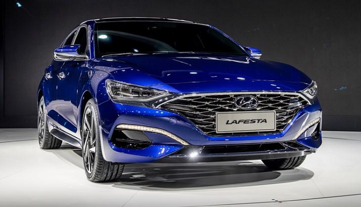 Пекинский автосалон 2018: Хюндай представил новый седан Lafesta