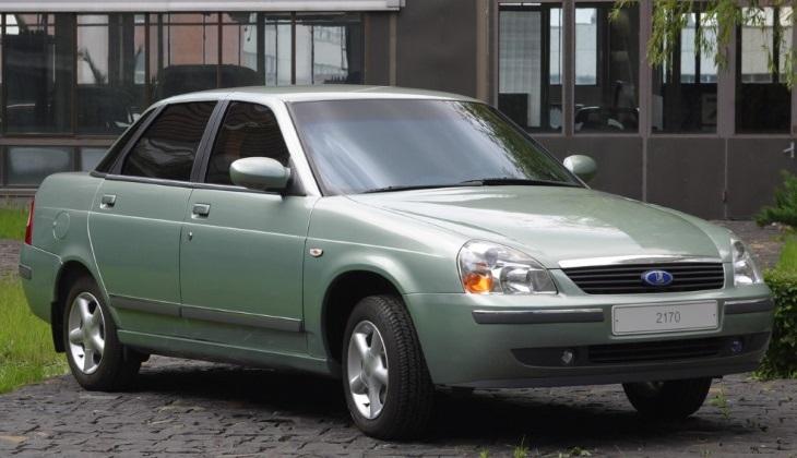 Опытный седан ВАЗ-2170, 2003 год
