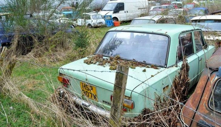 В Великобритании найдено странное место с заброшенными «Жигулями» и «Ладами»