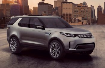 Рассекречен кроссовер Land Rover Discovery Vision Concept