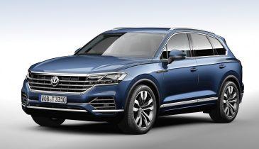 Volkswagen Touareg нового поколения превратился в паркетный кроссовер b9597102bfb