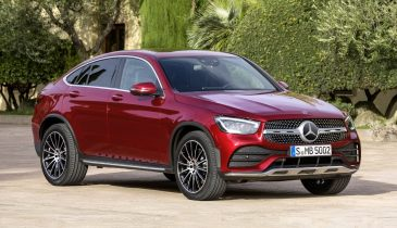 Mercedes-Benz GLC Coupe обновился вслед за базовой моделью