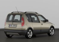 Skoda Roomster Scout, 2010