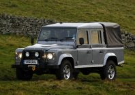 and Rover Defender 110 Pickup