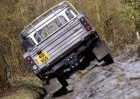 and Rover Defender 110 Pickup, 2007