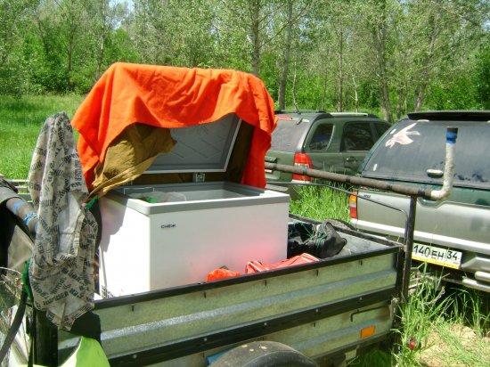 генератор на рыбалке видео