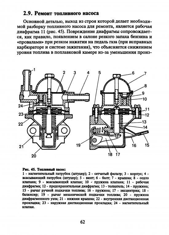 Фото №8 - характеристика бензонасоса ВАЗ 2110 инжектор
