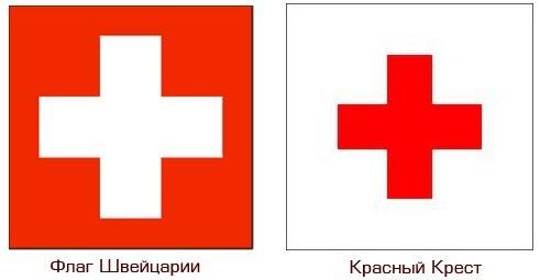 imgplusdb.com / Логотип Белый Крест На Красном Фоне Бренд