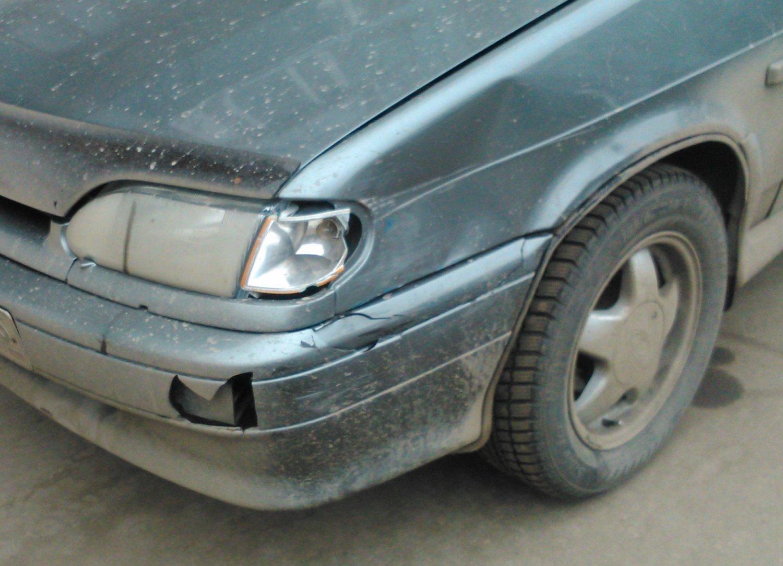 Поцарапала машину как сказать мужу