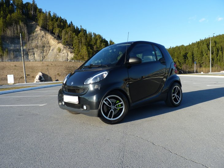 Smart Fortwo 451 Passion (2008 г.)
