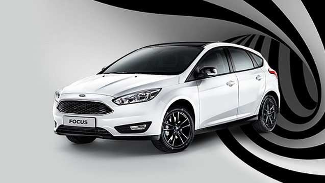 Ford Focus White And Black (2017 г.)
