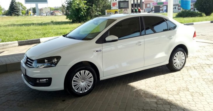 Volkswagen Polo Sedan (2018 г.)