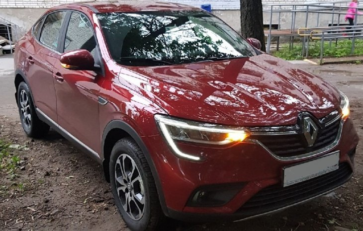 Renault Arkana 1.3 Turbo (2019 г.)