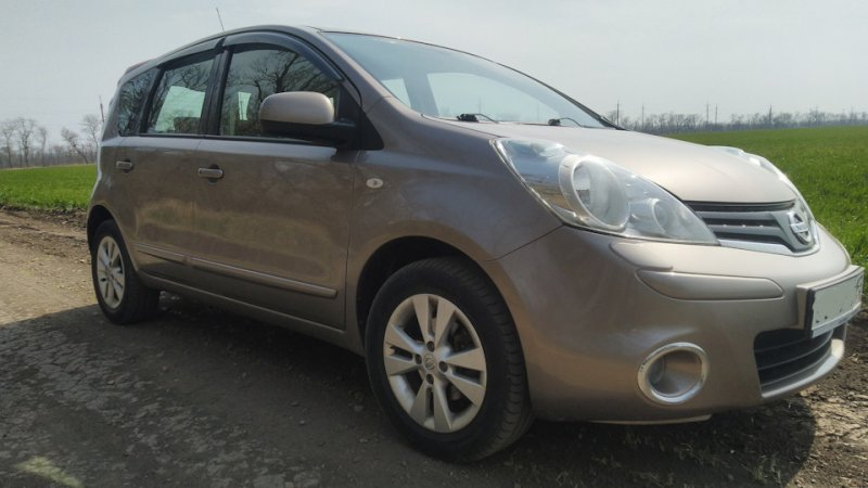 Nissan Note 1.4 (2013 г.)