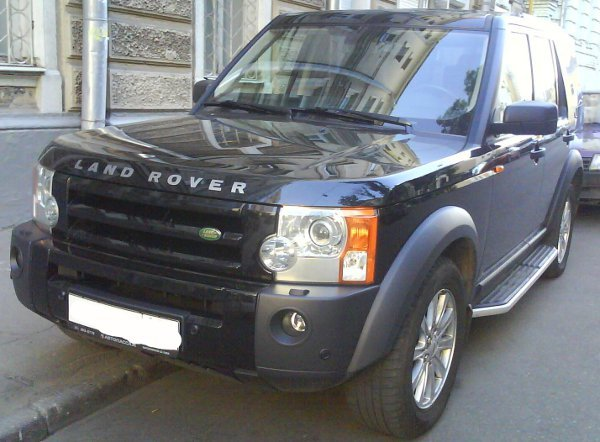 Land Rover Discovery 2.5 TDI (2008 г.)