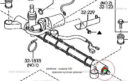 Ремонт мазда демио рулевая